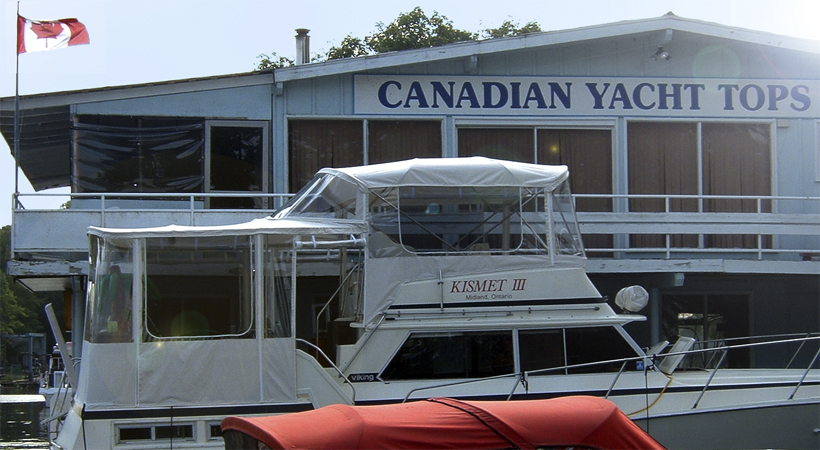Canadian Yacht Tops Is CYT North An Industry Leader Since 1984 For Custom Canvas Enclosures Tonneau Covers Upholstery Flooring
