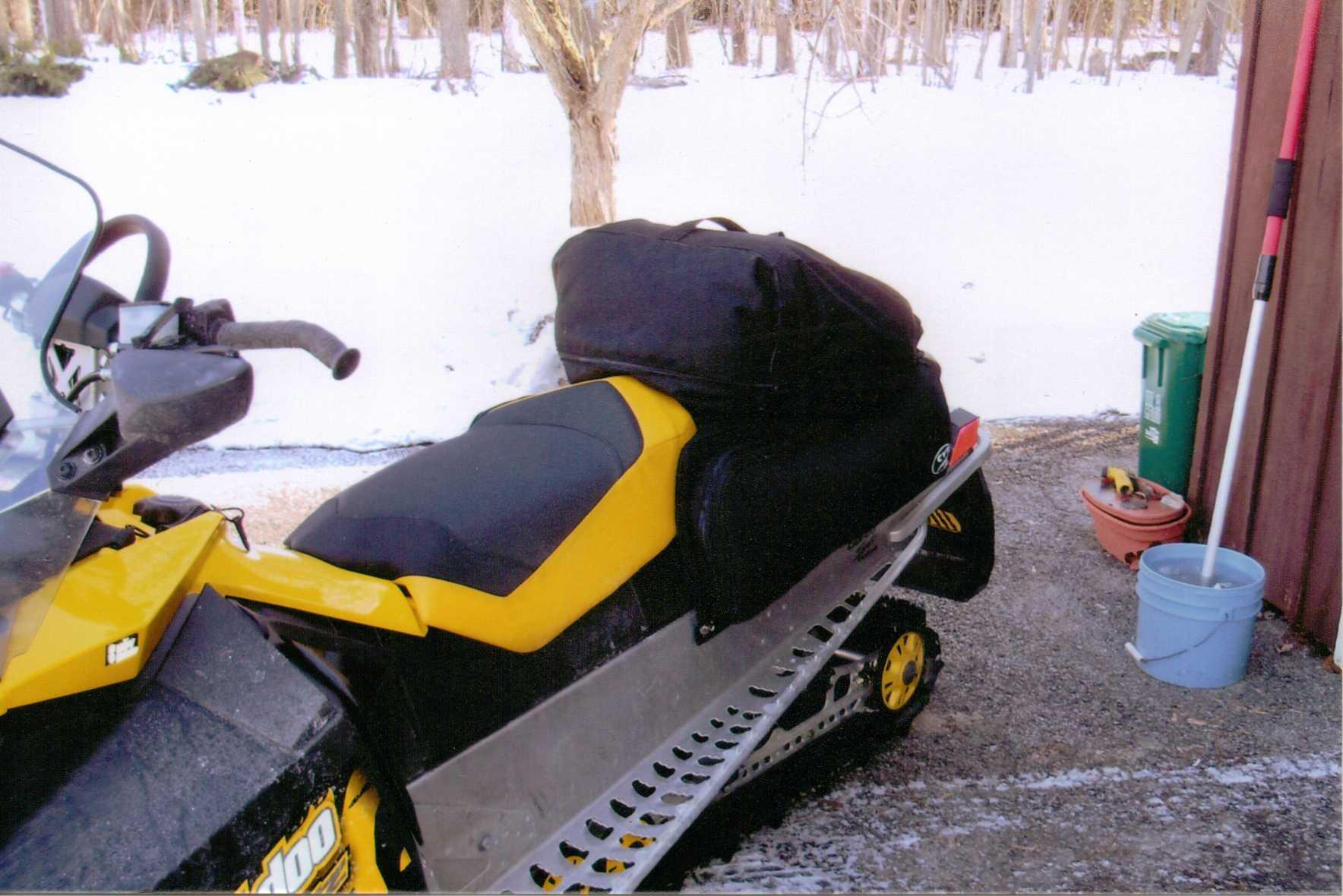 Ski Doo Renegade Custom Saddlebag